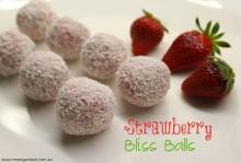 Strawberry Bliss Balls