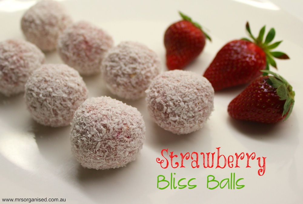 Strawberry Bliss Balls