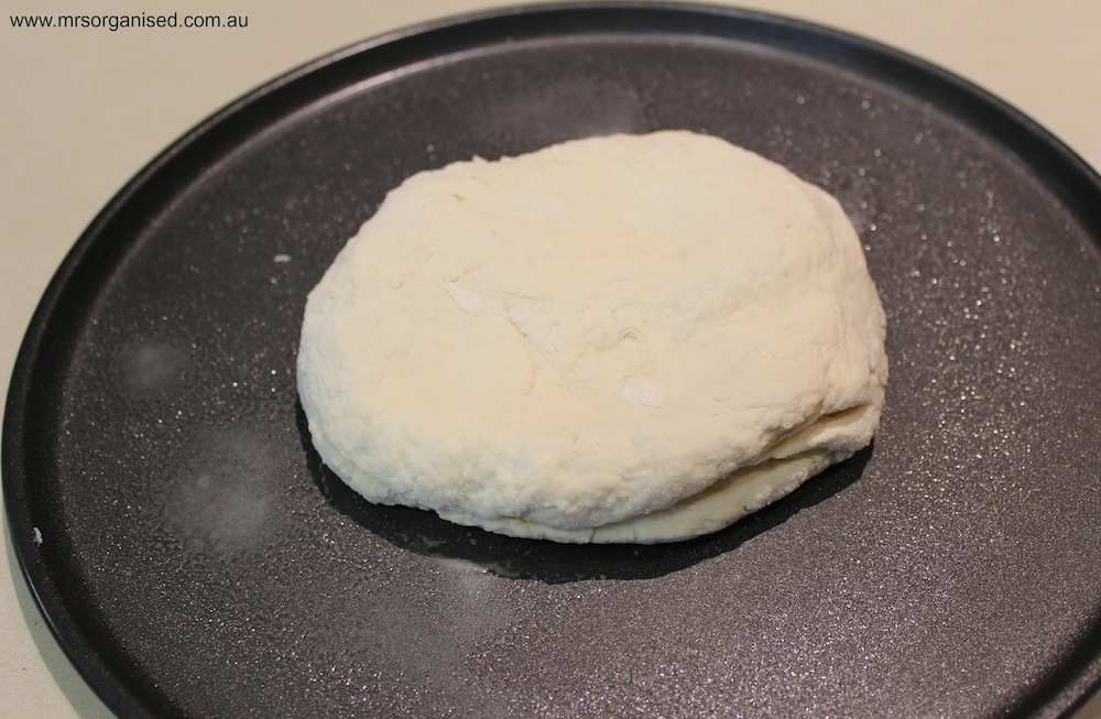Easy Peasy 2 Ingredient Pizza Dough 005