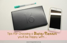Tips for Choosing a DiaryPlanner You'll be Happy With 001