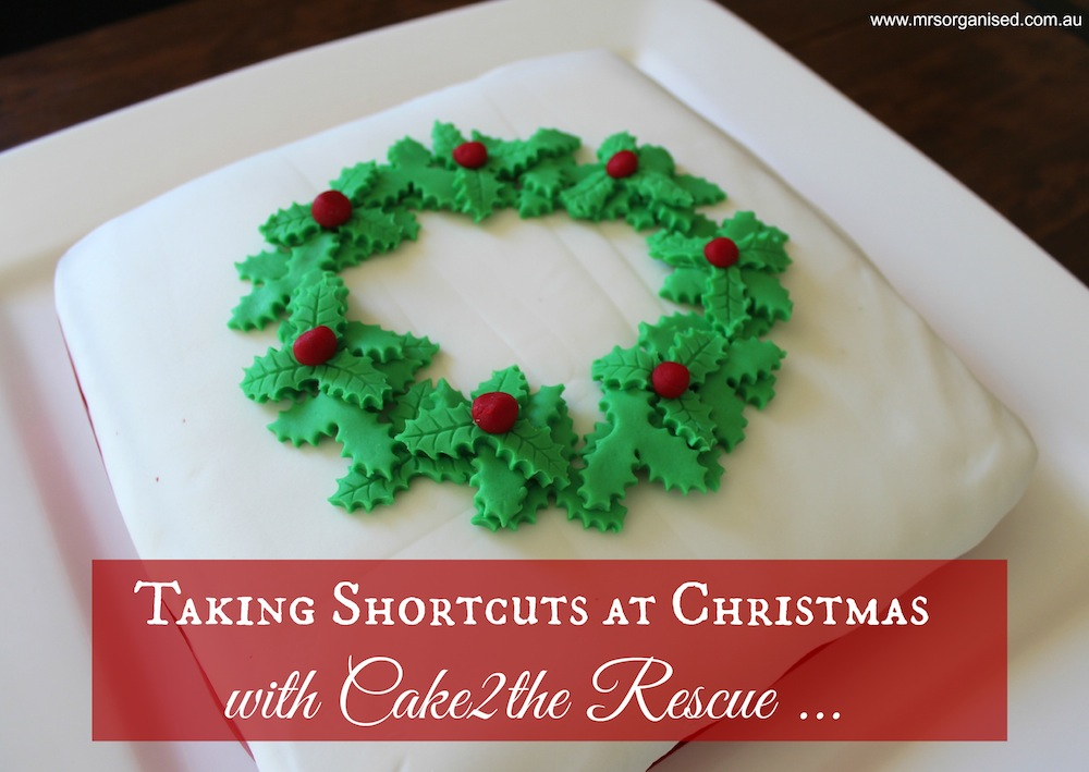 Taking Shortcuts at Christmas with Cake2the Rescue 001