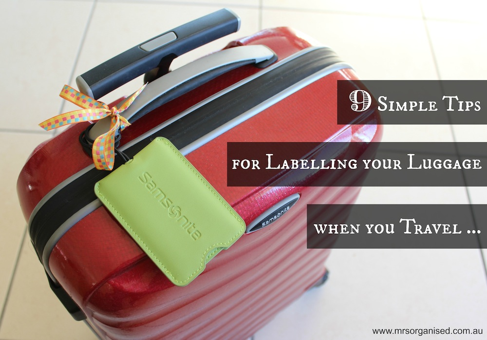 9 Simple Tips for Labelling your Luggage when you Travel 001