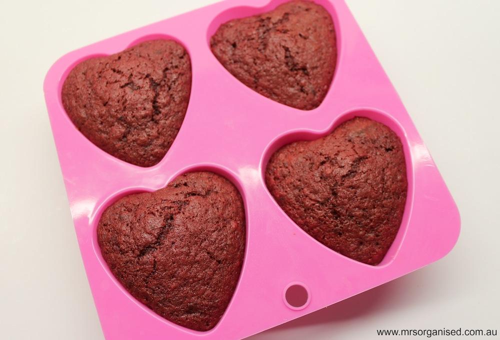 Be My Valentine Red Velvet Cupcakes 002