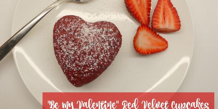 Be My Valentine Red Velvet Cupcakes 003