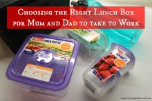 Choosing the Right Lunchbox for Mum or Dad to take to Work 001
