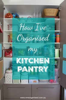 How I've Organised my Kitchen Pantry 001