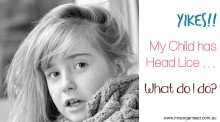 Yikes!!  My Child has Head Lice … What do I do? 001