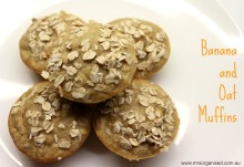 Banana and Oat Muffins 001
