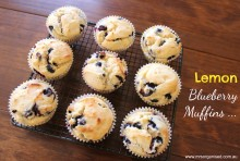 Lemon Blueberry Muffins 001