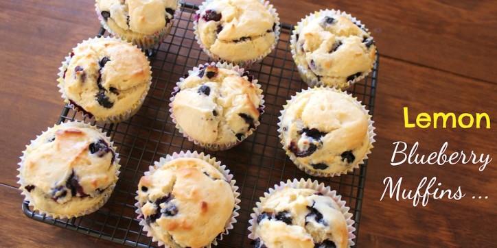Lemon Blueberry Muffins 001