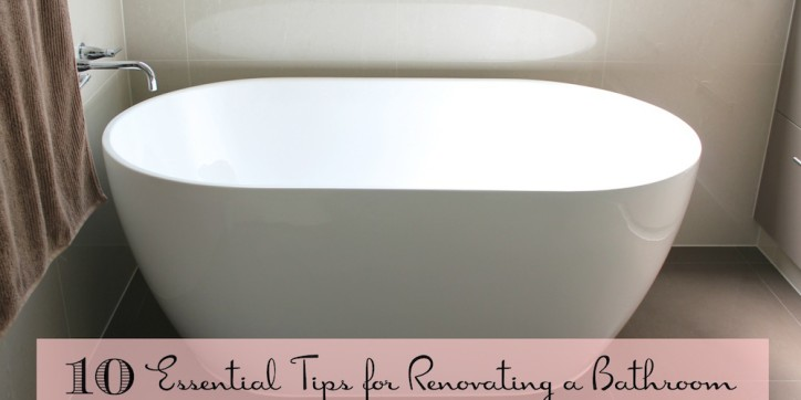 10 Essential Tips for Renovating a Bathroom 001