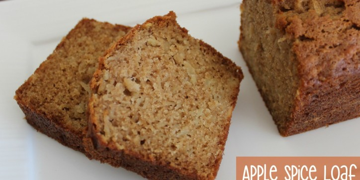 Apple Spice Loaf 001