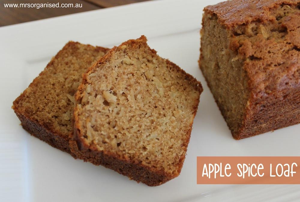 Apple Spice Loaf 001