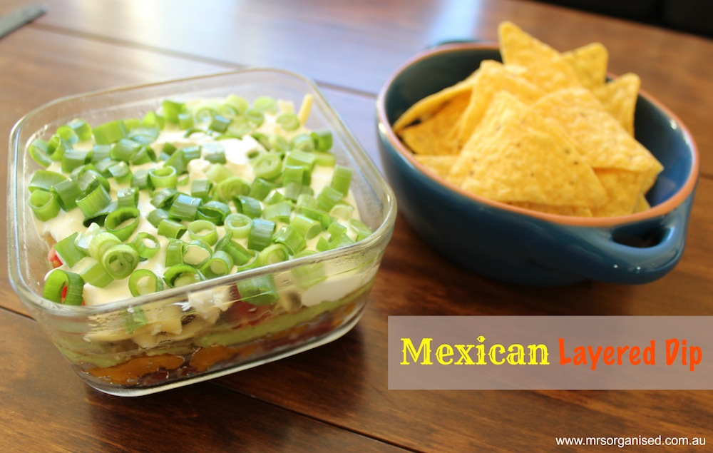 Mexican Layered Dip 001