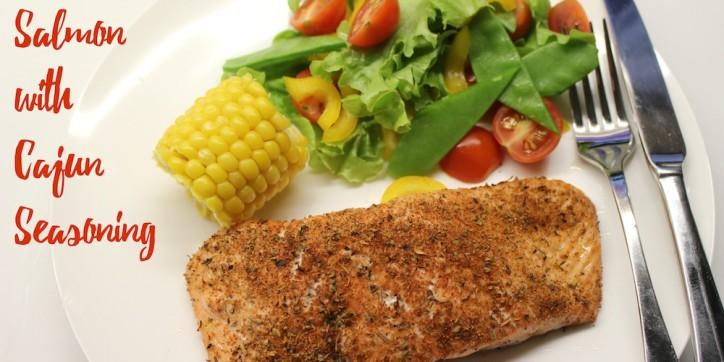 Salmon with Cajun Seasoning 001