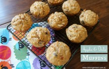 Apple and Date Muffins 001