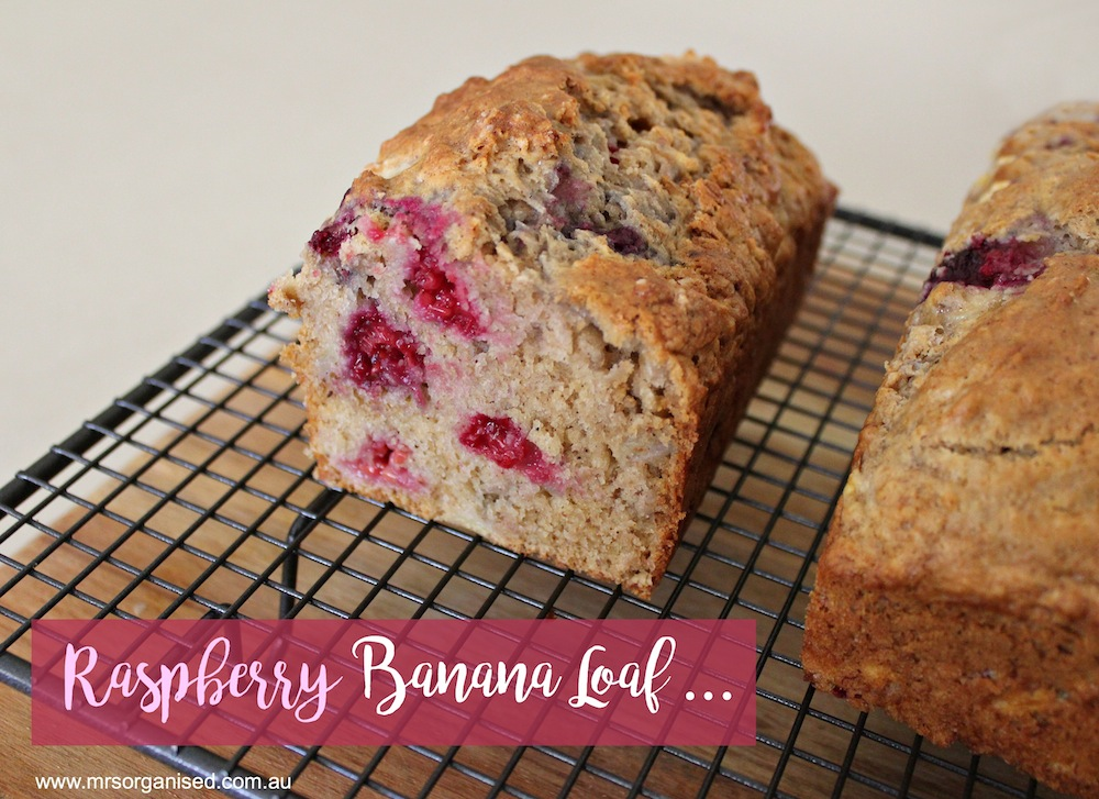 Raspberry Banana Loaf 001