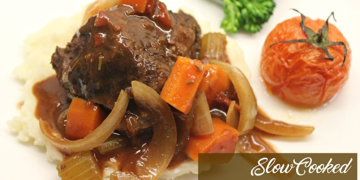 Slow Cooked Beef Cheeks