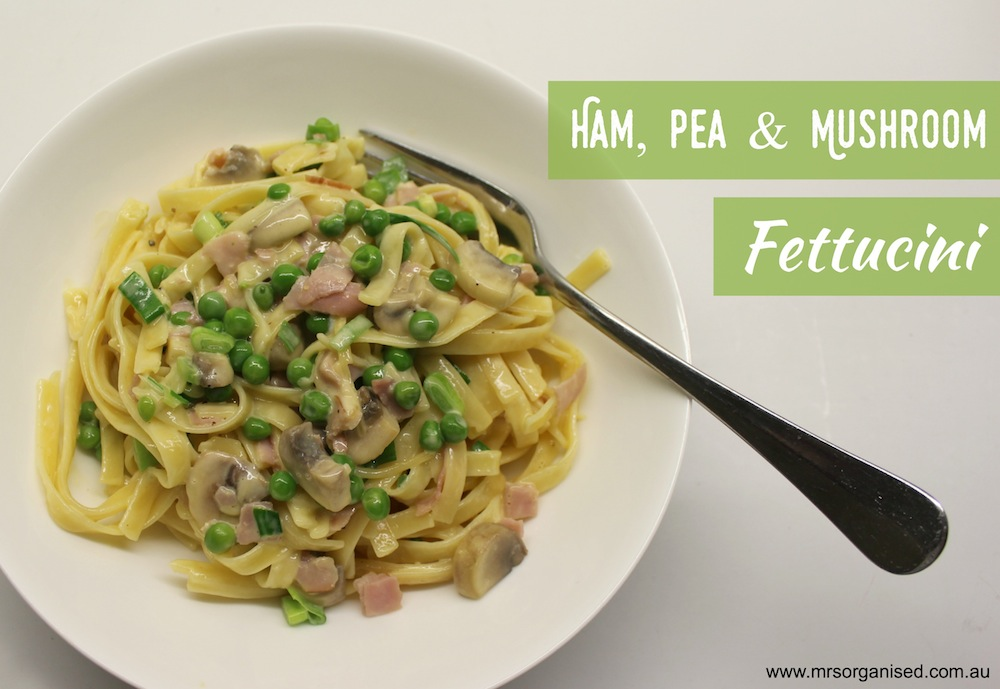ham-pea-and-mushroom-fettucini