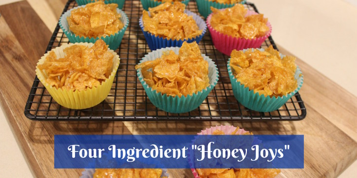 Four Ingredient Honey Joys