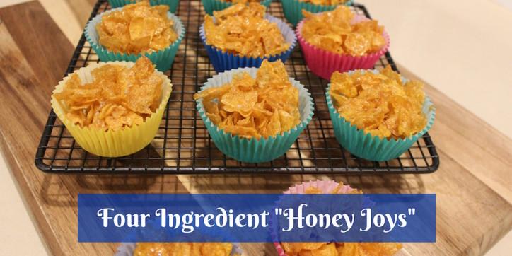 Four Ingredient Honey Joys