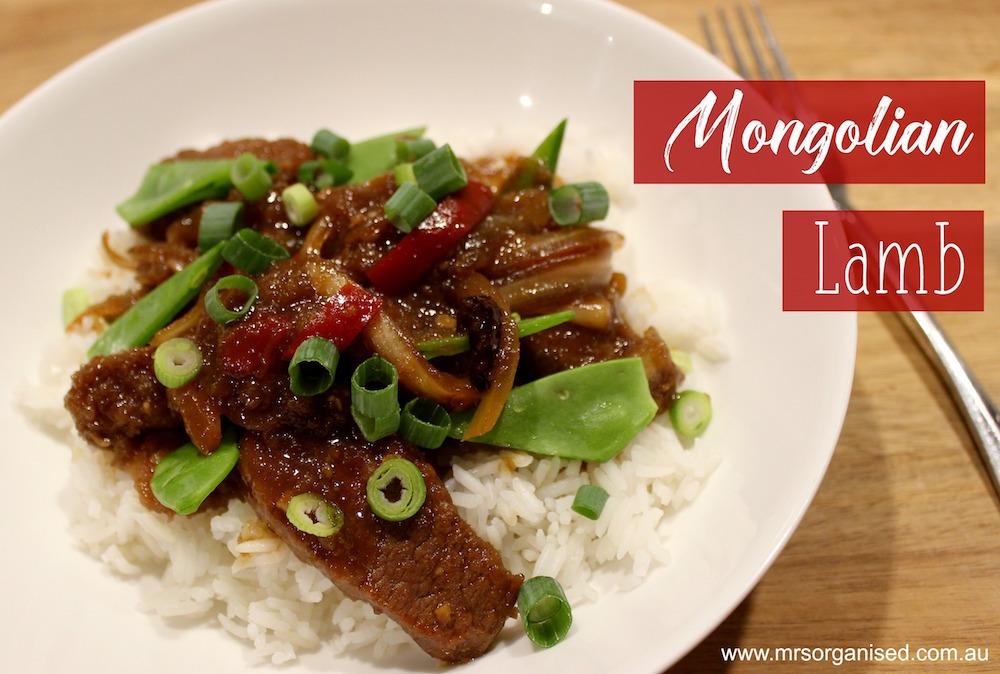 Mongolian Lamb