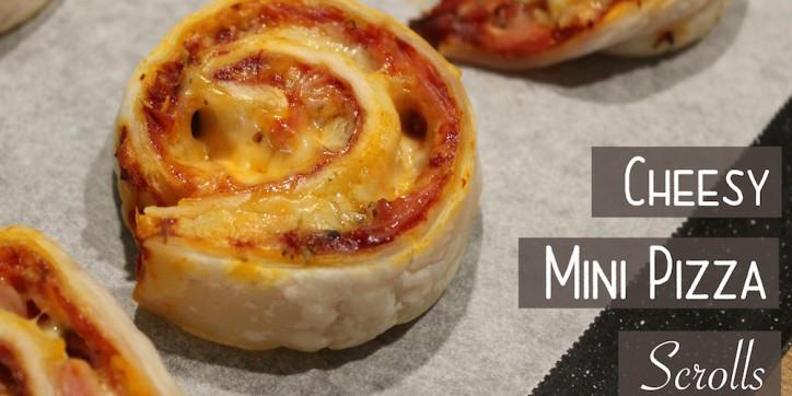 Cheesy Mini Pizza Scrolls 001