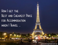 How I get the Best and Cheapest Price for Accommodation when I Travel