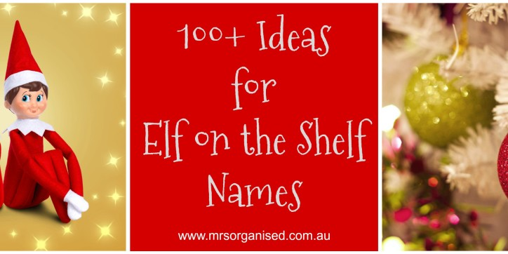 100+ Ideas for Elf on the Shelf Names