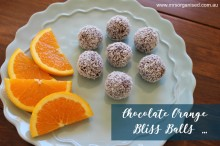 Chocolate Orange Bliss Balls 001