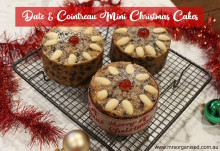 Date and Cointreau Mini Christmas Cakes 001