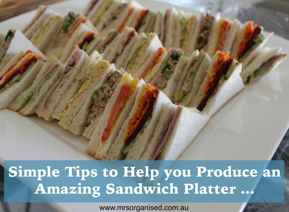 Simple Tips to Help you Produce an Amazing Sandwich Platter 001